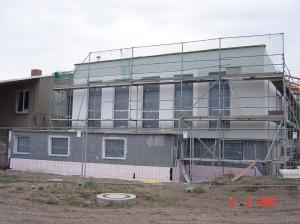 Sportlerheim Trebitz, Fassade 08.09.2003 004
